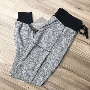 Threads 4 Thought Black Heather Joggers